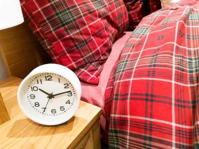寝室の環境や寝具を整える