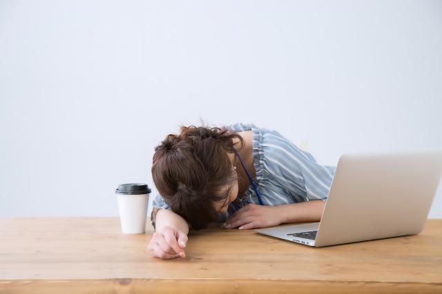 寝不足では疲労が回復しない