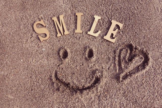 幸せは自分の中に感じるもの