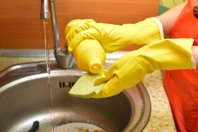 洗い物を楽に早くする方法