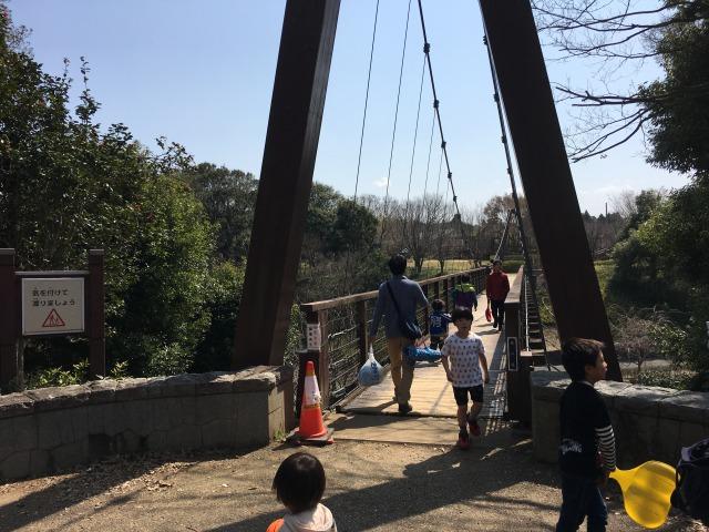 千葉県成田市坂田ヶ池総合公園、龍の橋