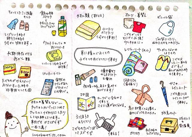 子どもとのお出かけに便利な持ち物リスト