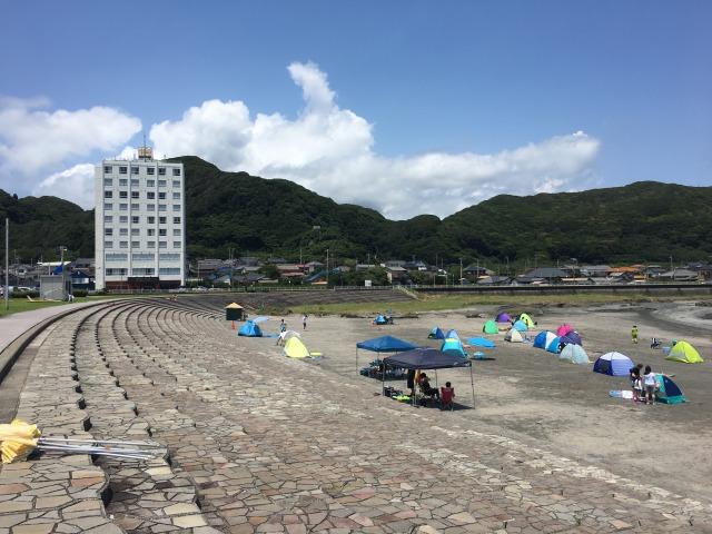 南房総の白浜への旅:塩浦海水浴場3