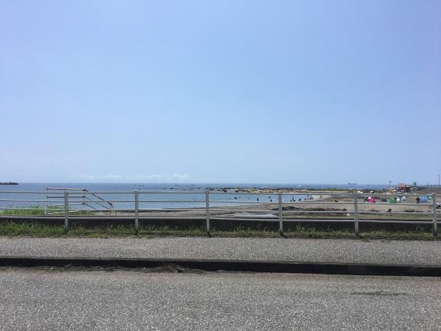 南房総白浜への旅:塩浦海水浴場