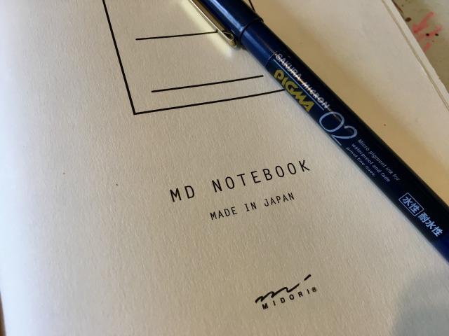 愛用のノートとペン