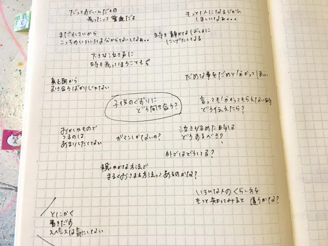 悩みを解決するノートの作り方:とにかく書き出す